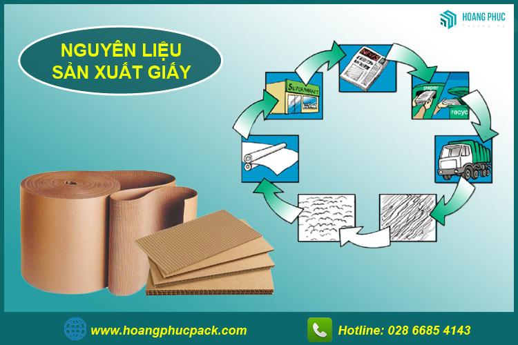 Nguyên liệu sản xuất giấy