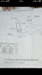 Bán nhà sổ hồng riêng 3.2x12 xd 1tr1lau 2pn giá 1ty650